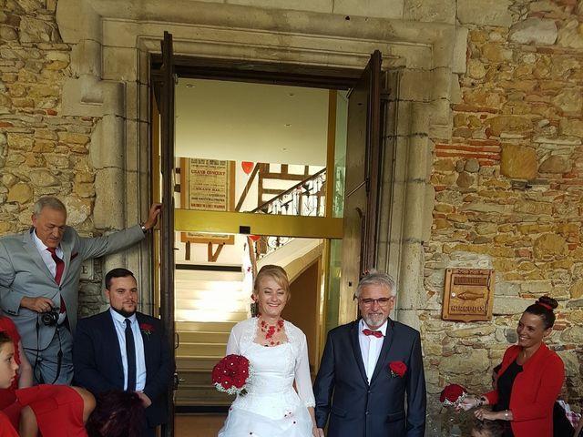 Le mariage de Christian et  Claudine à Mirepoix, Ariège 1