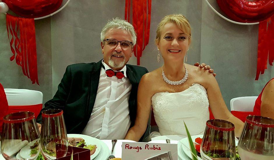 Le mariage de Christian et  Claudine à Mirepoix, Ariège