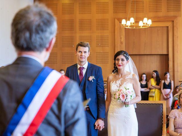 Le mariage de Thomas et Souhir à Vallet, Loire Atlantique 1