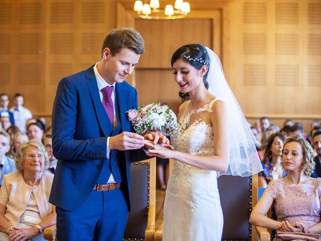 Le mariage de Thomas et Souhir à Vallet, Loire Atlantique 18