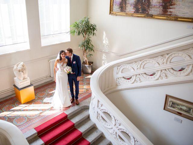 Le mariage de Thomas et Souhir à Vallet, Loire Atlantique 22