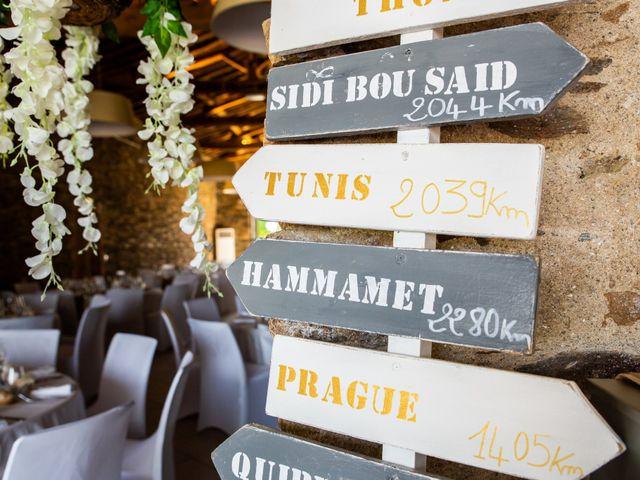 Le mariage de Thomas et Souhir à Vallet, Loire Atlantique 40