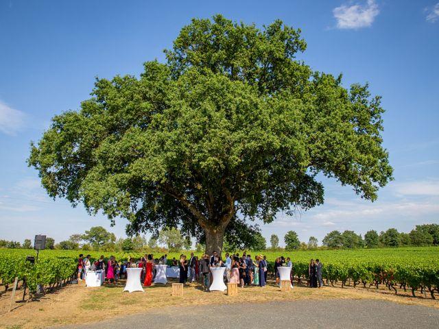 Le mariage de Thomas et Souhir à Vallet, Loire Atlantique 45