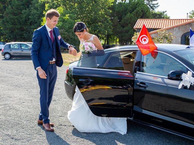 Le mariage de Thomas et Souhir à Vallet, Loire Atlantique 47