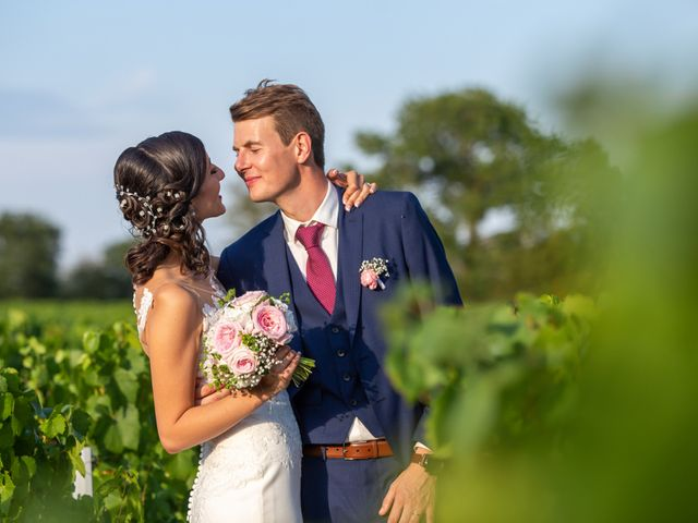 Le mariage de Thomas et Souhir à Vallet, Loire Atlantique 2