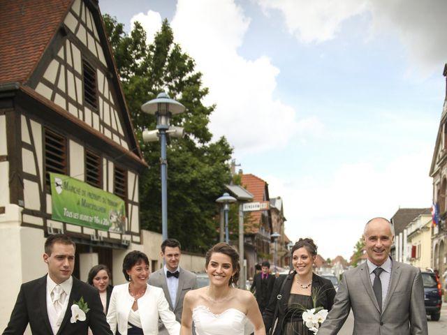 Le mariage de Anthony et Laetitia à Marckolsheim, Bas Rhin 25