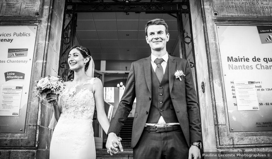 Le mariage de Thomas et Souhir à Vallet, Loire Atlantique