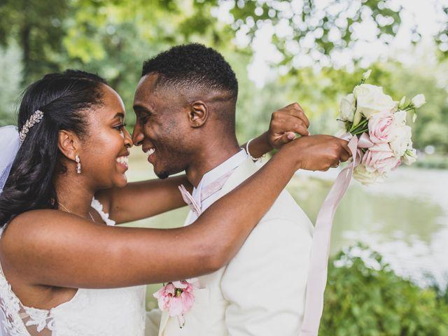 Le mariage de William et Emilie à Giremoutiers, Seine-et-Marne 15
