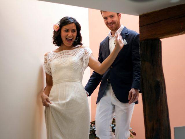 Le mariage de Vincent et Sanjana à Murviel-lès-Montpellier, Hérault 14