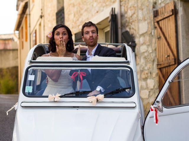 Le mariage de Vincent et Sanjana à Murviel-lès-Montpellier, Hérault 37