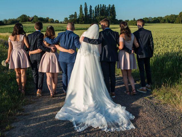 Le mariage de Amélie et Thomas  à Linselles, Nord 88