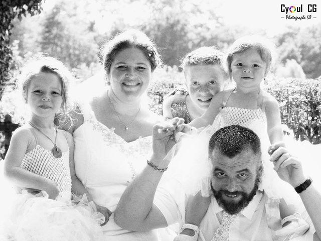 Le mariage de François et Anna à Livry, Nièvre 2