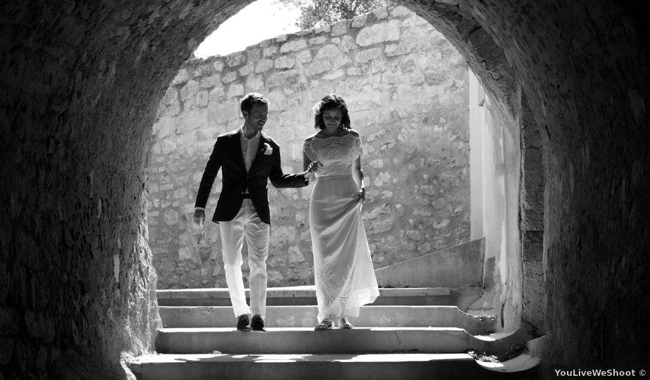 Le mariage de Vincent et Sanjana à Murviel-lès-Montpellier, Hérault
