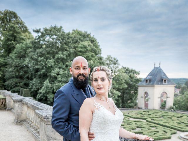 Le mariage de Richie et Margaux à Pontoise, Val-d'Oise 42