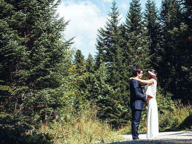 Le mariage de Nicolas et Alice à Les Déserts, Savoie 15