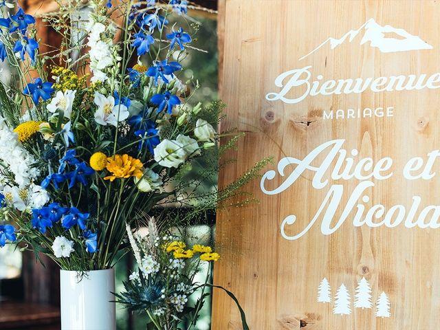 Le mariage de Nicolas et Alice à Les Déserts, Savoie 18