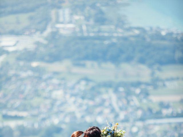 Le mariage de Nicolas et Alice à Les Déserts, Savoie 1