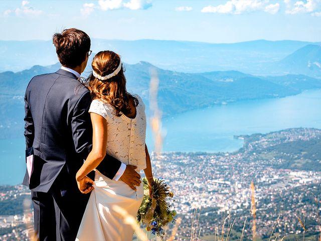 Le mariage de Nicolas et Alice à Les Déserts, Savoie 20