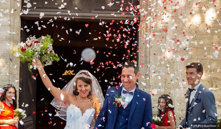 Le mariage de Jean Michel et Lucie à Tourbes, Hérault
