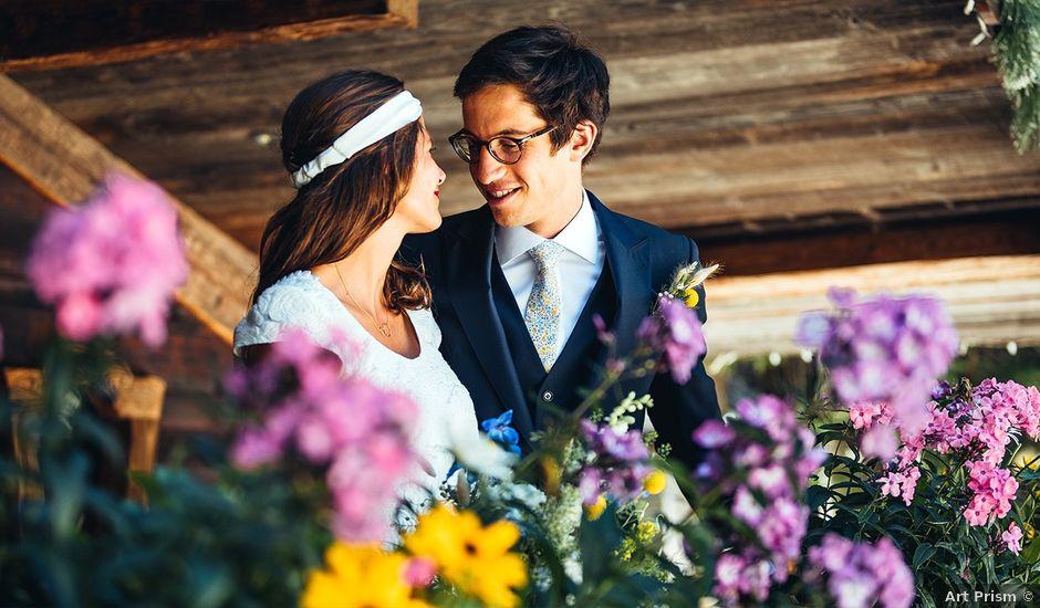 Le mariage de Nicolas et Alice à Les Déserts, Savoie