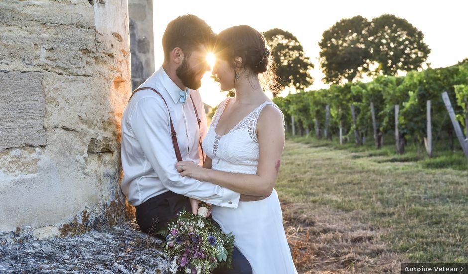 Le mariage de Julien et Bénédicte à Libourne, Gironde