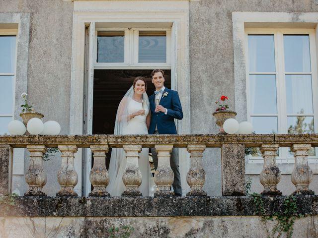 Le mariage de René et Emilie à Benest, Charente 20