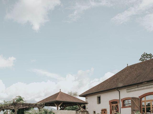 Le mariage de Antoine et Lucie à Menthon-Saint-Bernard, Haute-Savoie 7