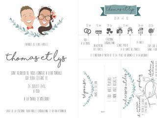 Le mariage de Thomas JOLLIVE et Lys 1