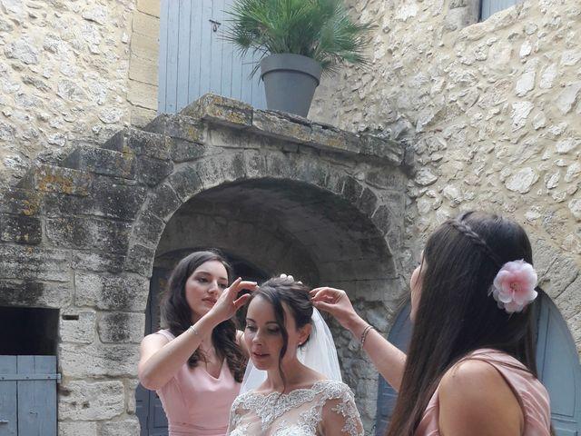 Le mariage de Benjamin et Aurore à Pujaut, Gard 8