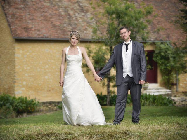 Le mariage de Romain et Audrey à Méobecq, Indre 1