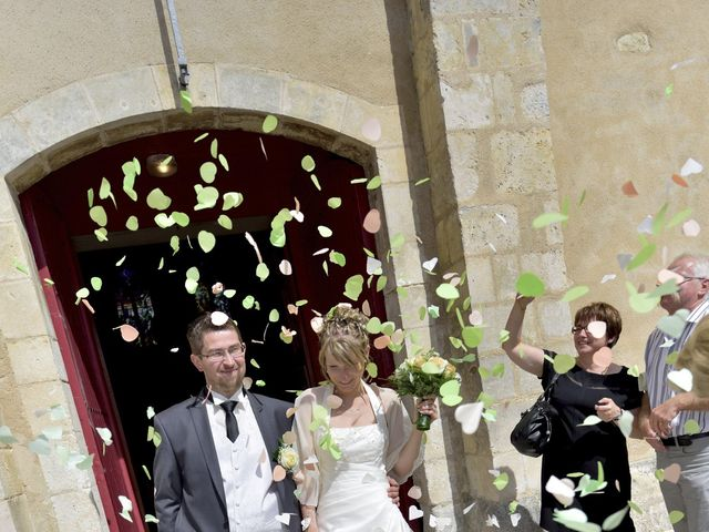 Le mariage de Romain et Audrey à Méobecq, Indre 9