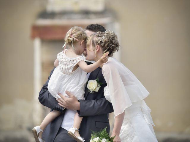 Le mariage de Romain et Audrey à Méobecq, Indre 12