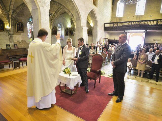 Le mariage de Romain et Audrey à Méobecq, Indre 16