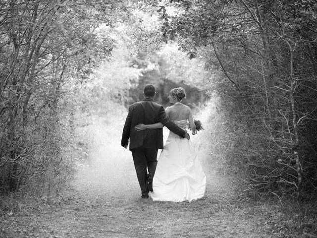 Le mariage de Romain et Audrey à Méobecq, Indre 19