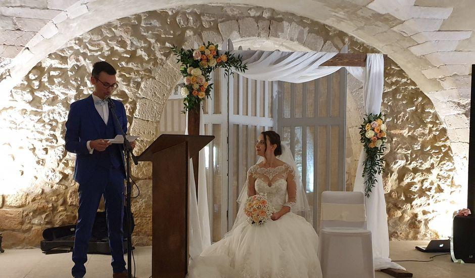Le mariage de Benjamin et Aurore à Pujaut, Gard