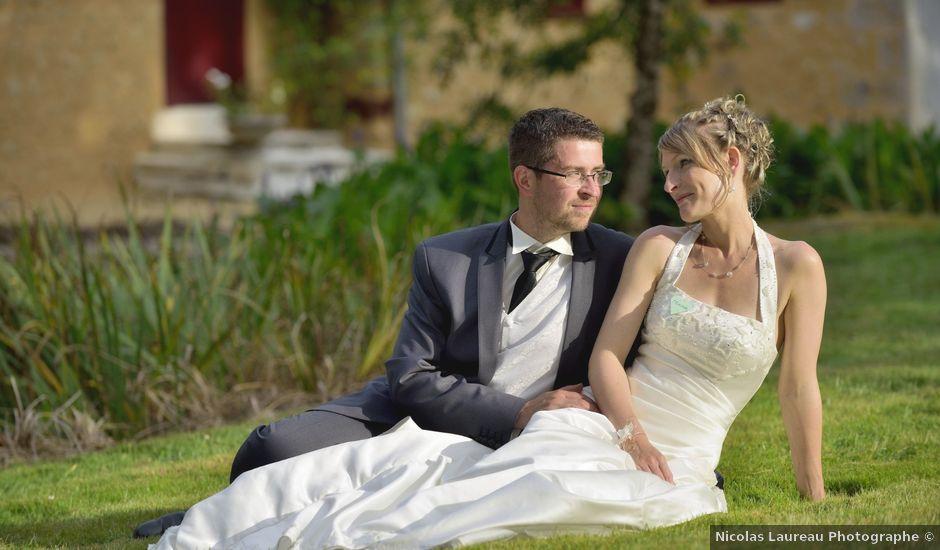 Le mariage de Romain et Audrey à Méobecq, Indre