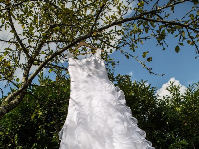 Le mariage de Benoît et Dorina à Saint-Martin-des-Noyers, Vendée 5