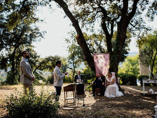 Le mariage de Alexandre et Manon à Sauve, Gard 37