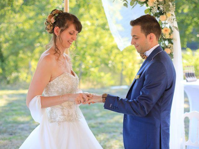 Le mariage de Angélique et Grégory