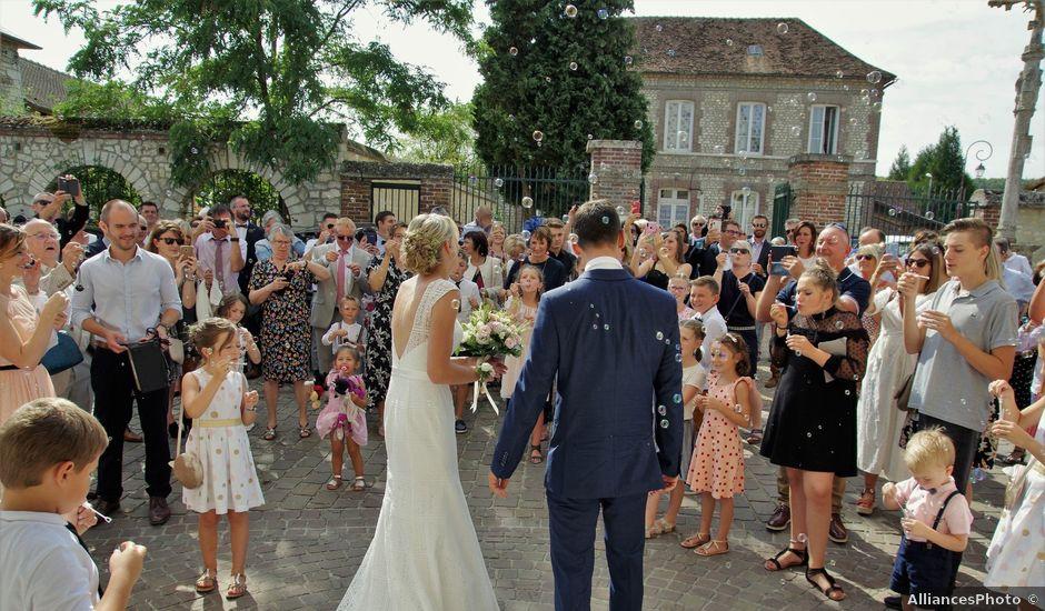 Le mariage de Anthony et Angélique à Le Vaudreuil, Eure