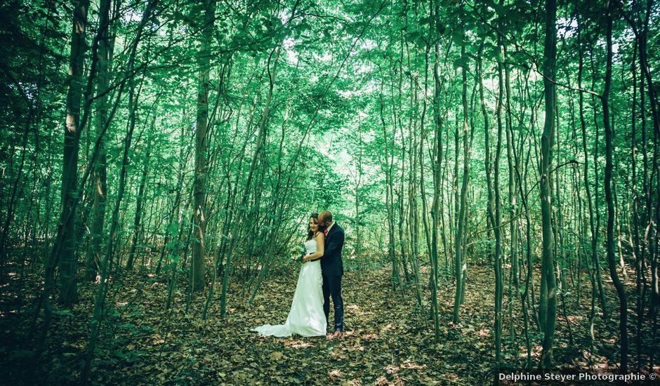 Le mariage de Mathieu et Muriel à Strasbourg, Bas Rhin