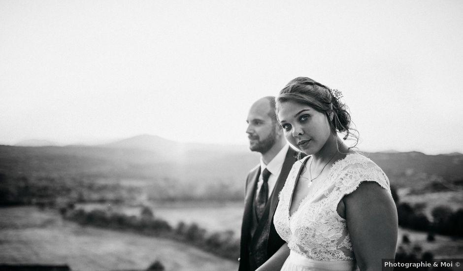 Le mariage de Alexandre et Manon à Sauve, Gard