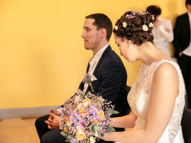 Le mariage de Edouard et Manon à Léré, Cher 6