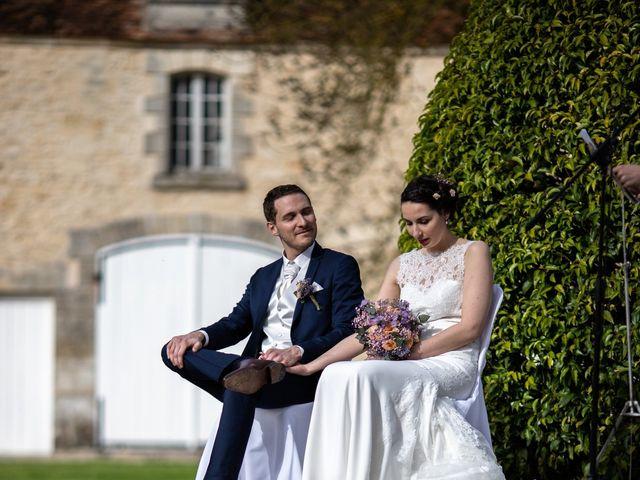 Le mariage de Edouard et Manon à Léré, Cher 16