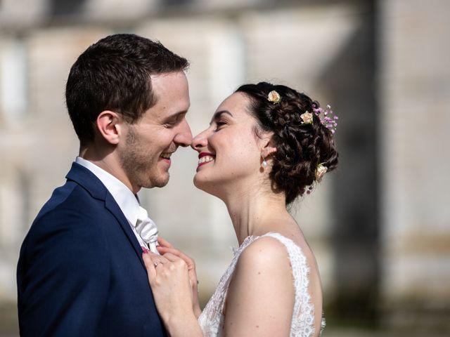 Le mariage de Edouard et Manon à Léré, Cher 1