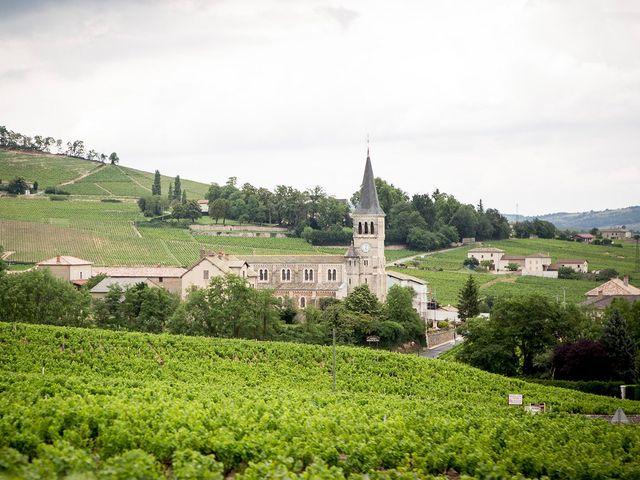 Le mariage de Adrien et Laure à Villié-Morgon, Rhône 49