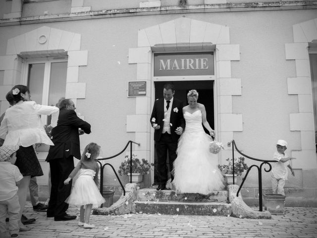 Le mariage de Jean-Noël et Morganne à Noyant-de-Touraine, Indre-et-Loire 2