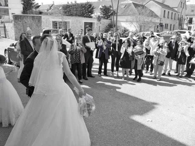 Le mariage de Cédric et Marjorie à Saints, Seine-et-Marne 10
