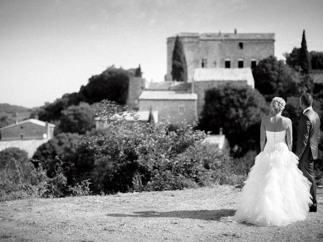 Le mariage de Romain et Mélanie à L'Ardoise, Gard 1