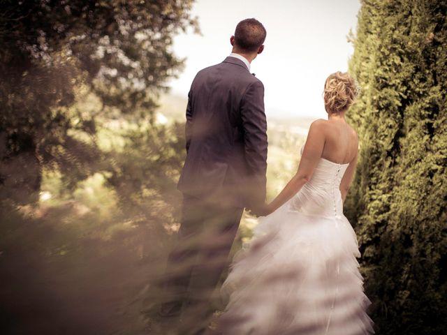 Le mariage de Romain et Mélanie à L'Ardoise, Gard 2